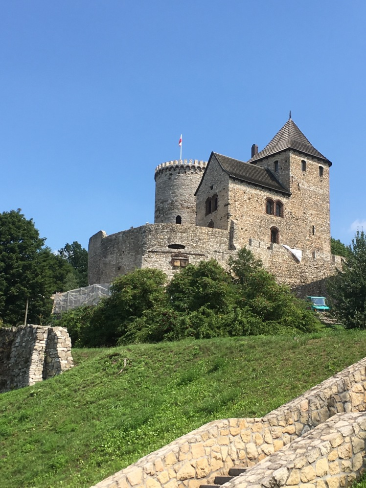 Fig 18 Bedzin Castle from site of former Great Synagogue, 2 August 2018