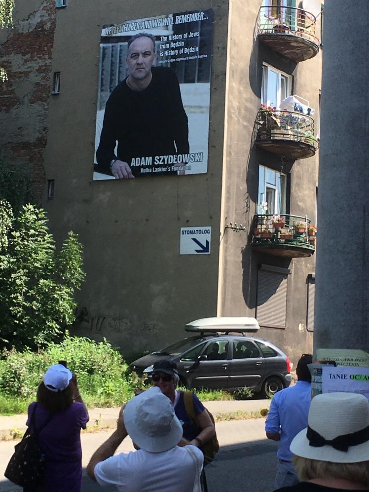 Fig 8 Adam Sydłowski poster Bedzin, August 2018